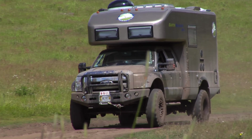 Earthroamer XVLT Doesn t Need Roads For Camping News Top