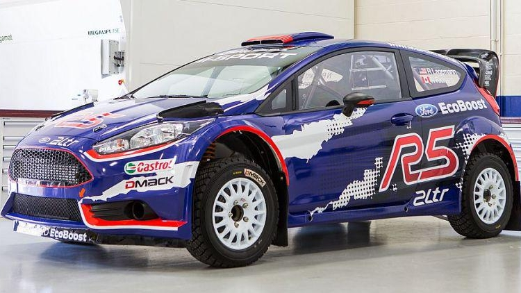 Ken Block Launches M Sport Ford Fiesta R5 Top Speed