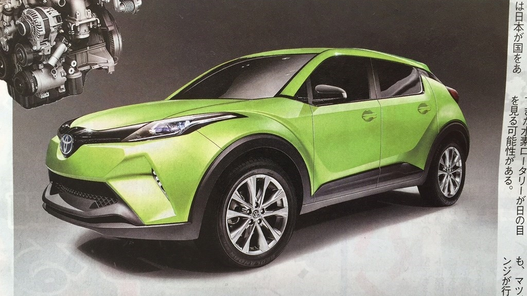 toyota mazda developing small electric suv picture top speed. Black Bedroom Furniture Sets. Home Design Ideas