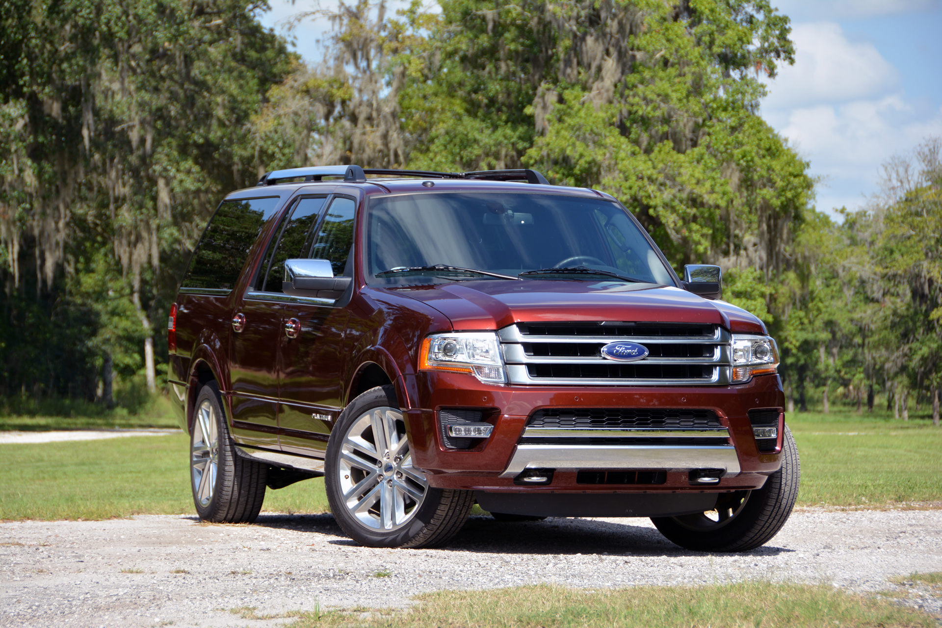 2015 Ford Expedition El Platinum Driven Pictures Photos
