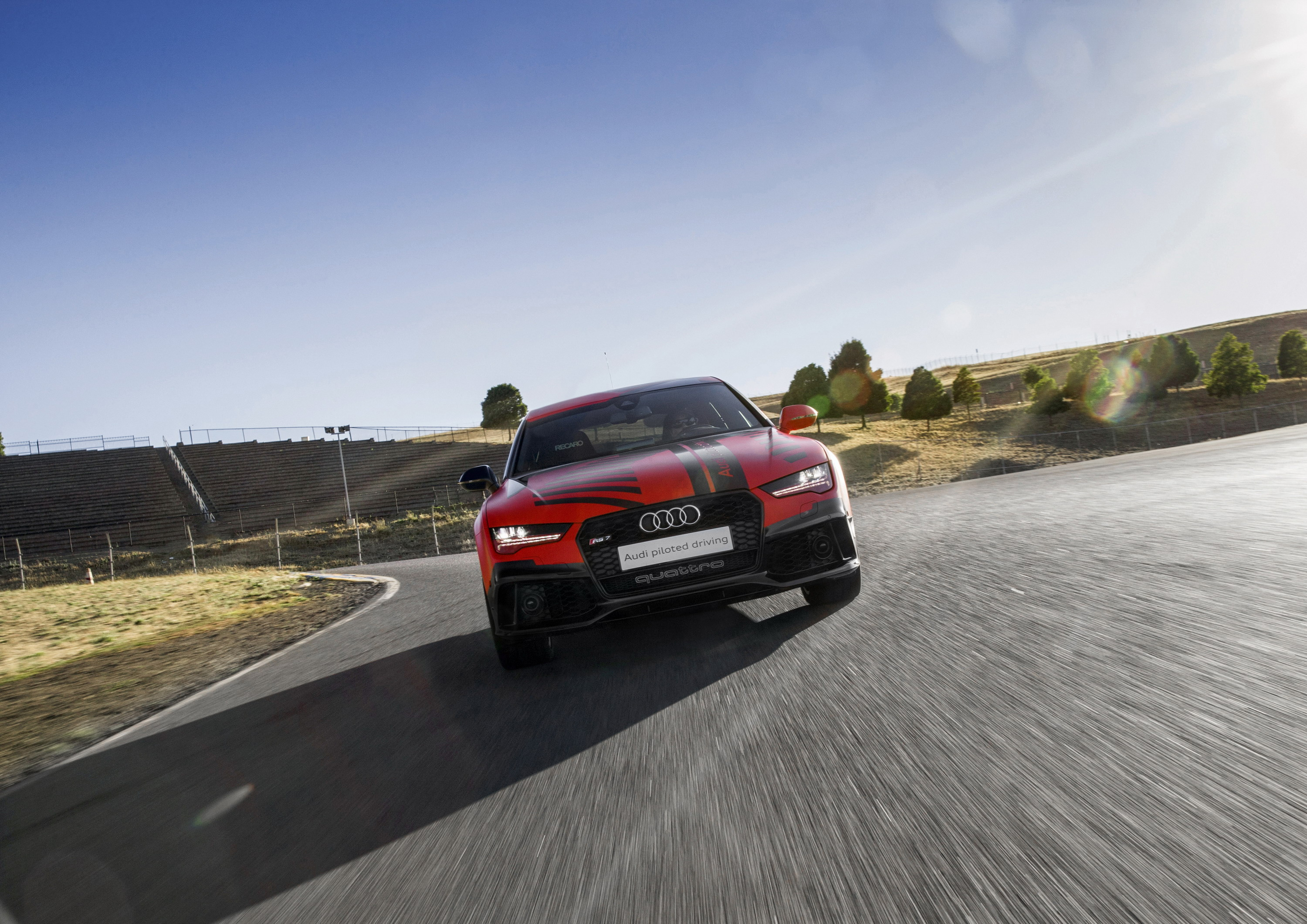 Audi RS Robby Piloted Driving Concept Top Speed - Audi piloted driving