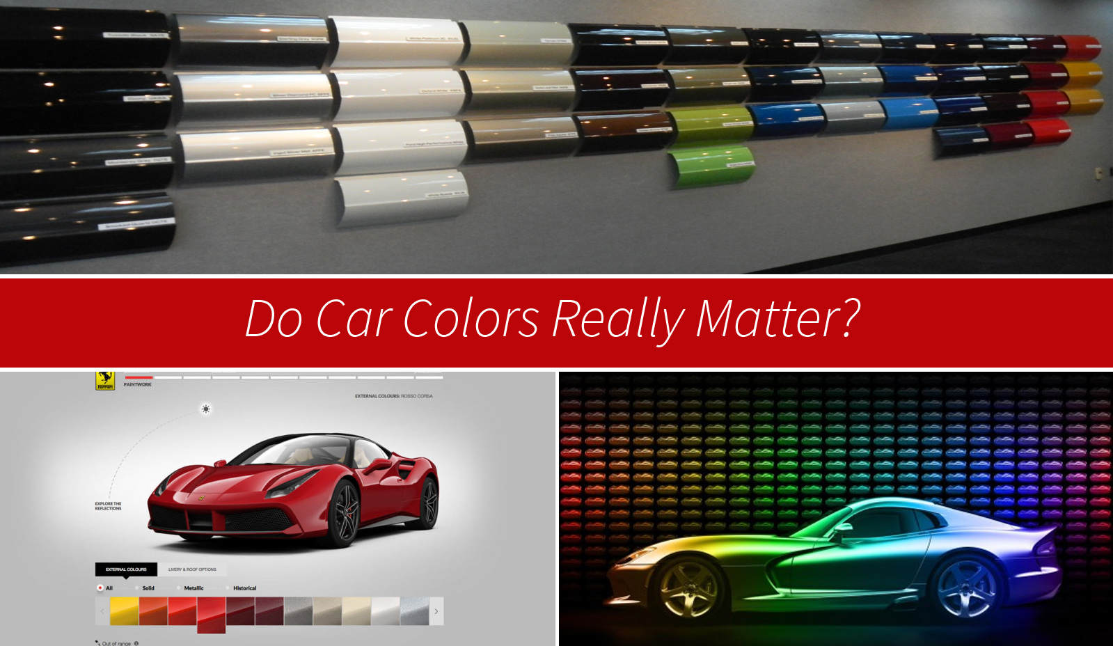 Do Car Colors Really Matter Top Speed