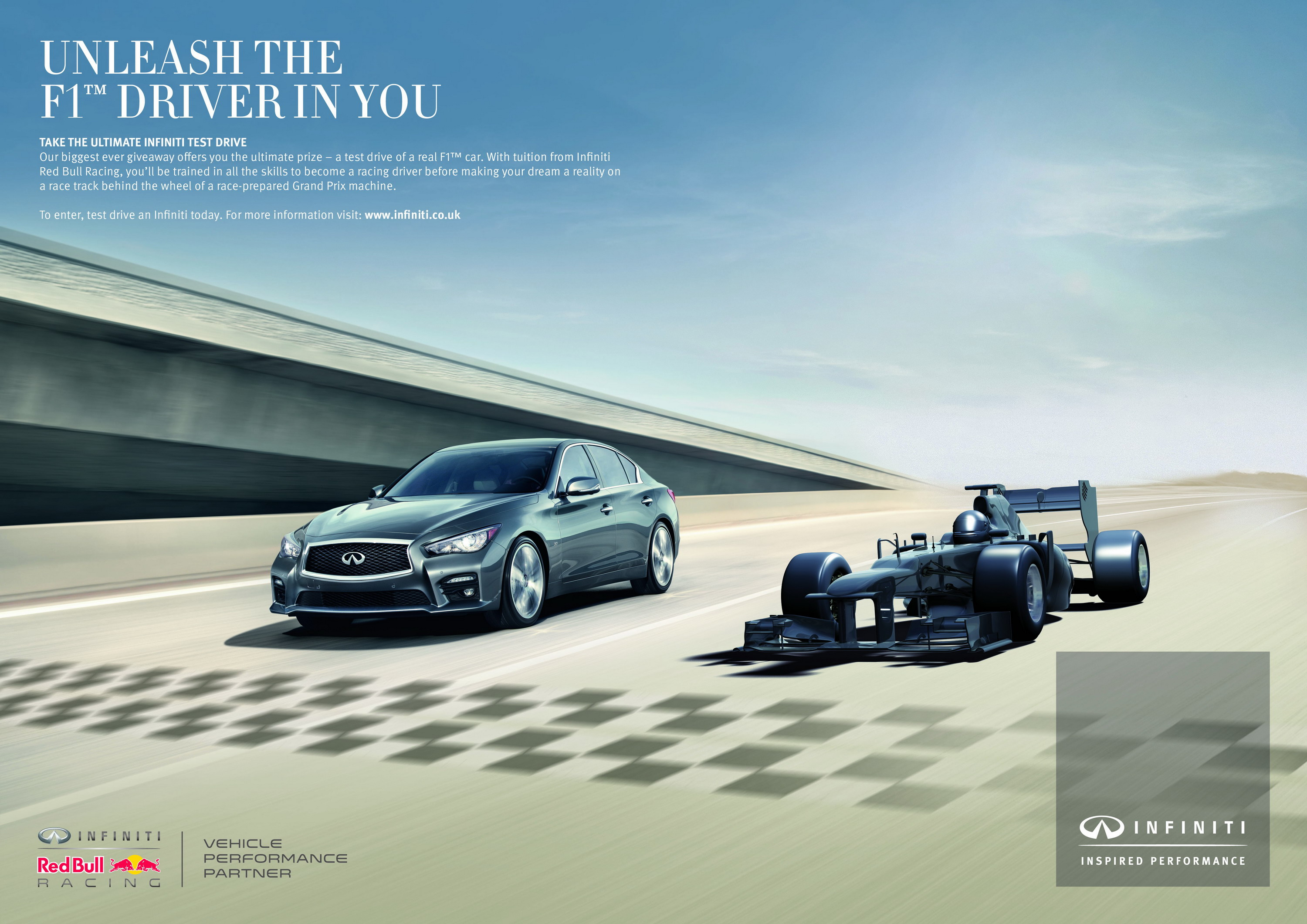 Infiniti S Ultimate Test Drive Campaign Is Offering The Chance To