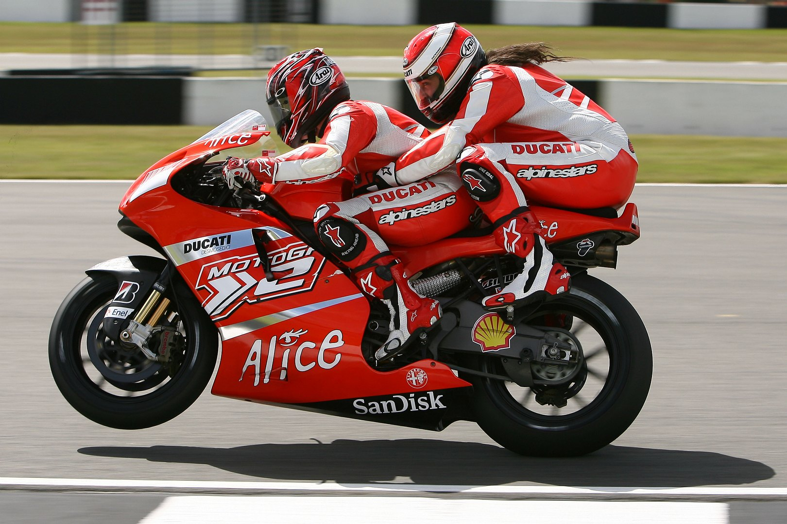 Riders For Health Offering Two Seater Ducati Ride At