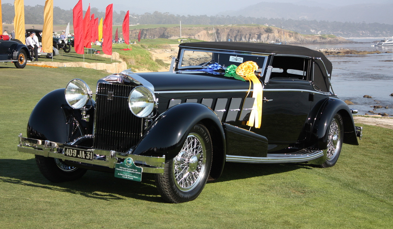 1924 isotta fraschini tipo 8a cabriolet top speed