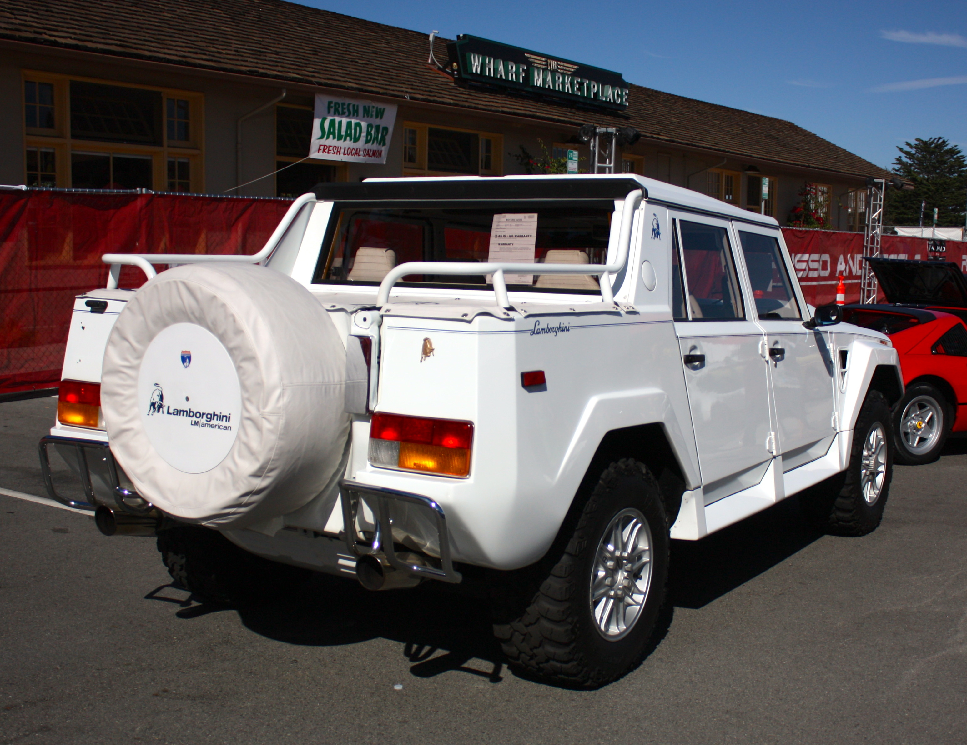 1986 - 1993 Lamborghini LM002 | Top Speed