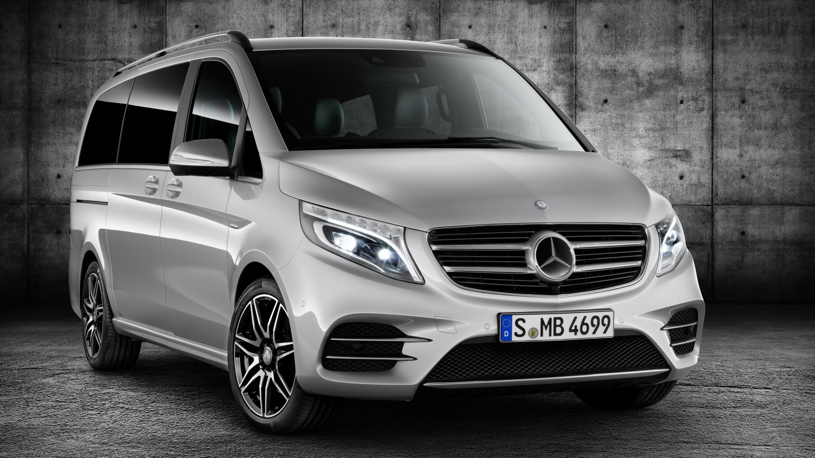 2016 mercedes benz v class amg line top speed. Black Bedroom Furniture Sets. Home Design Ideas