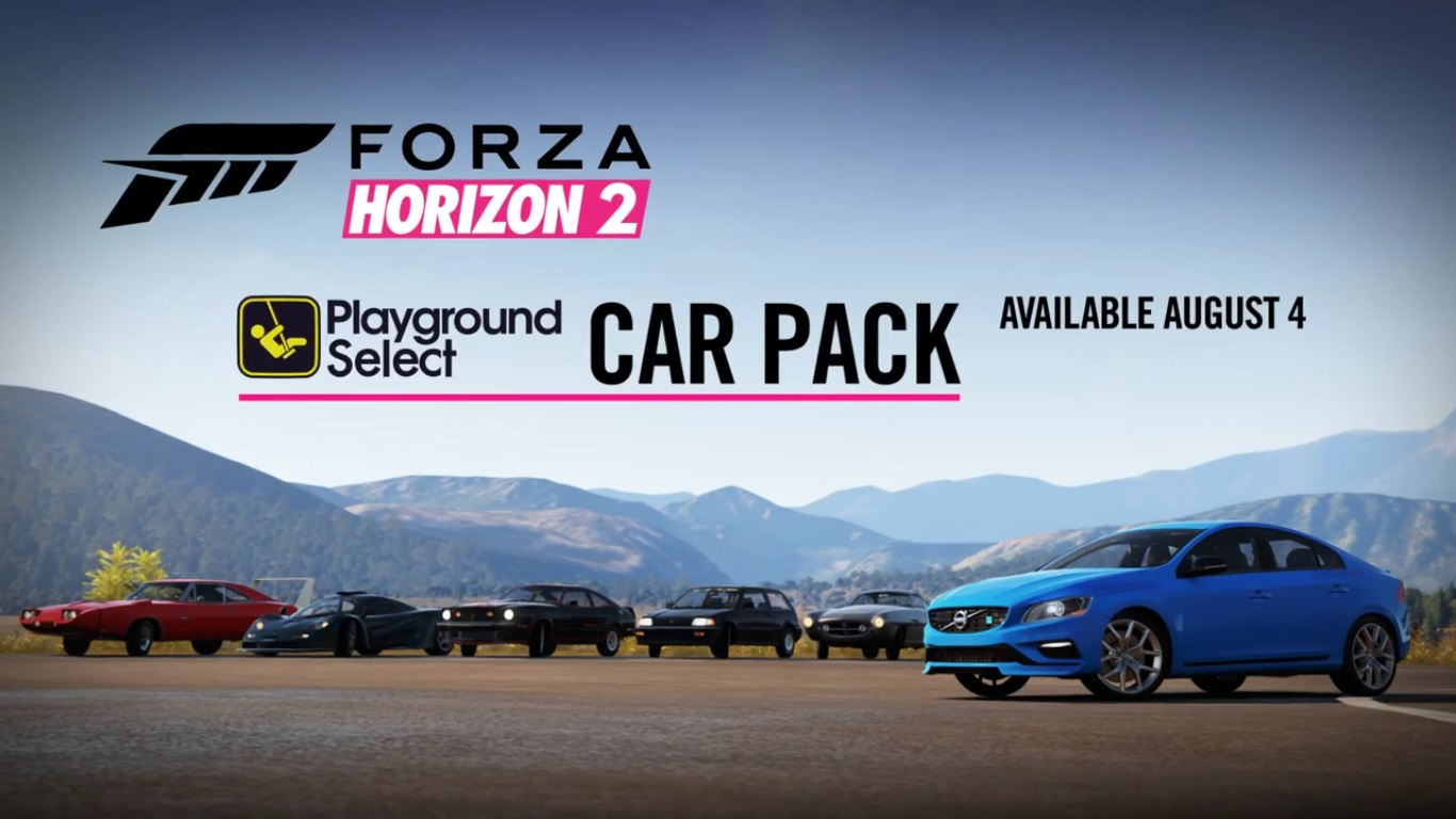 forza horizon 2 gets free playground select car pack top. Black Bedroom Furniture Sets. Home Design Ideas