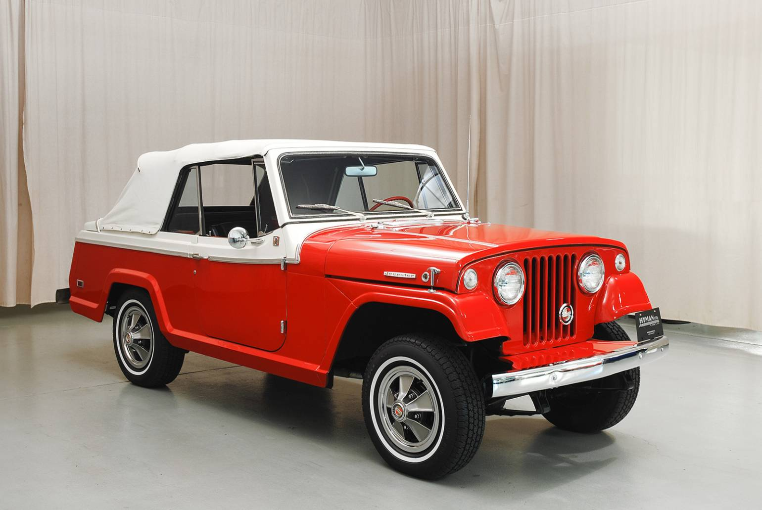 1968 Jeepster Convertible | Top Speed
