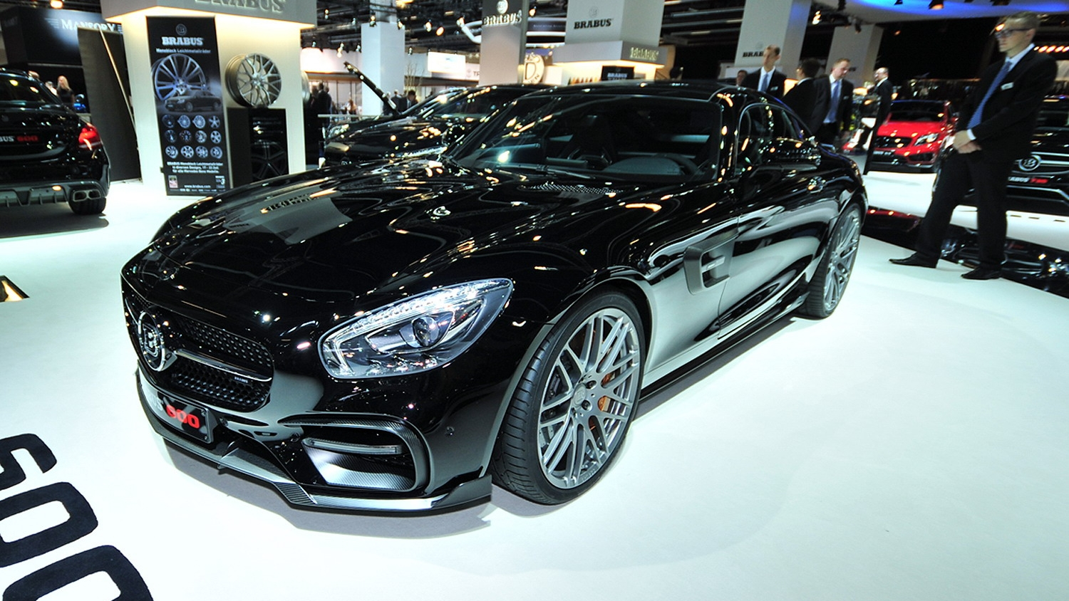 2016 mercedes amg gt s by brabus top speed. Black Bedroom Furniture Sets. Home Design Ideas