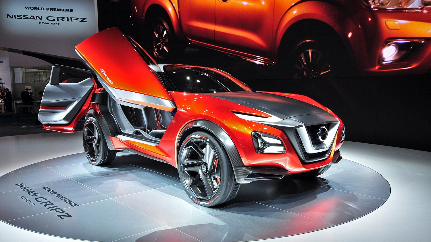 Car Show 2015 >> 2016 Nissan Gripz Concept | Top Speed