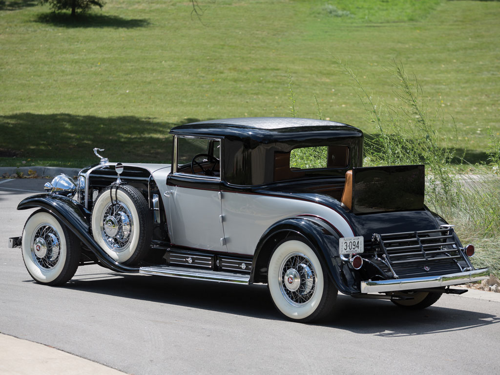 Car Auctions In Pa >> 1930 Cadillac V-16 Two-Passenger Coupe By Fleetwood Review - Top Speed