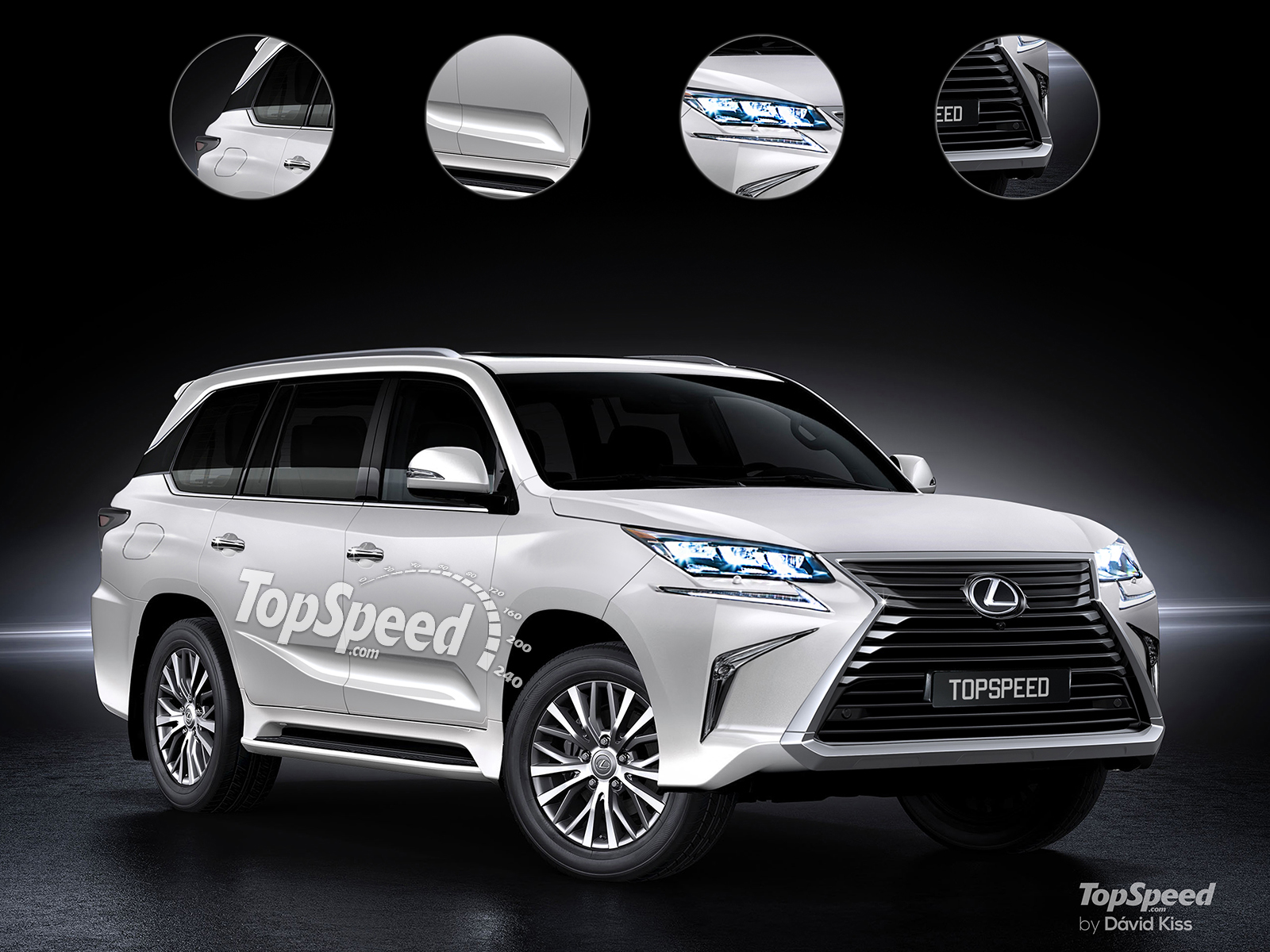 Lexus Flagship SUV | Top Speed. »