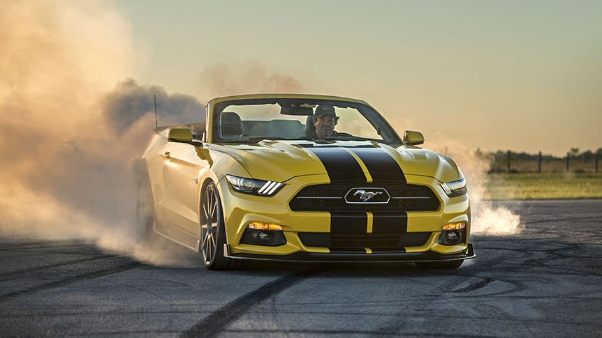 2016 Ford Mustang Convertible HPE750 By Hennessey | Top Speed