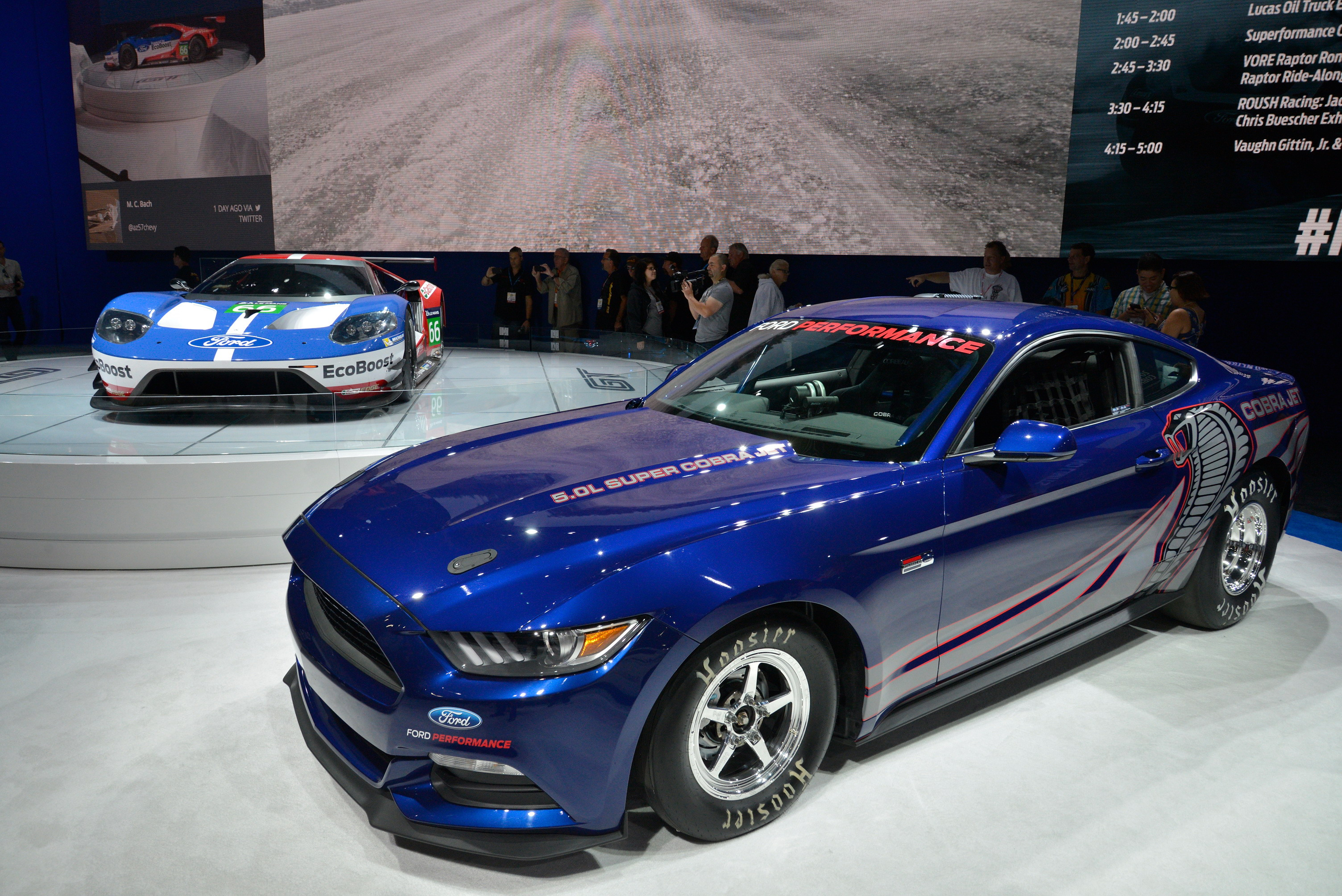 2016 Ford Mustang Cobra Jet | Top Speed