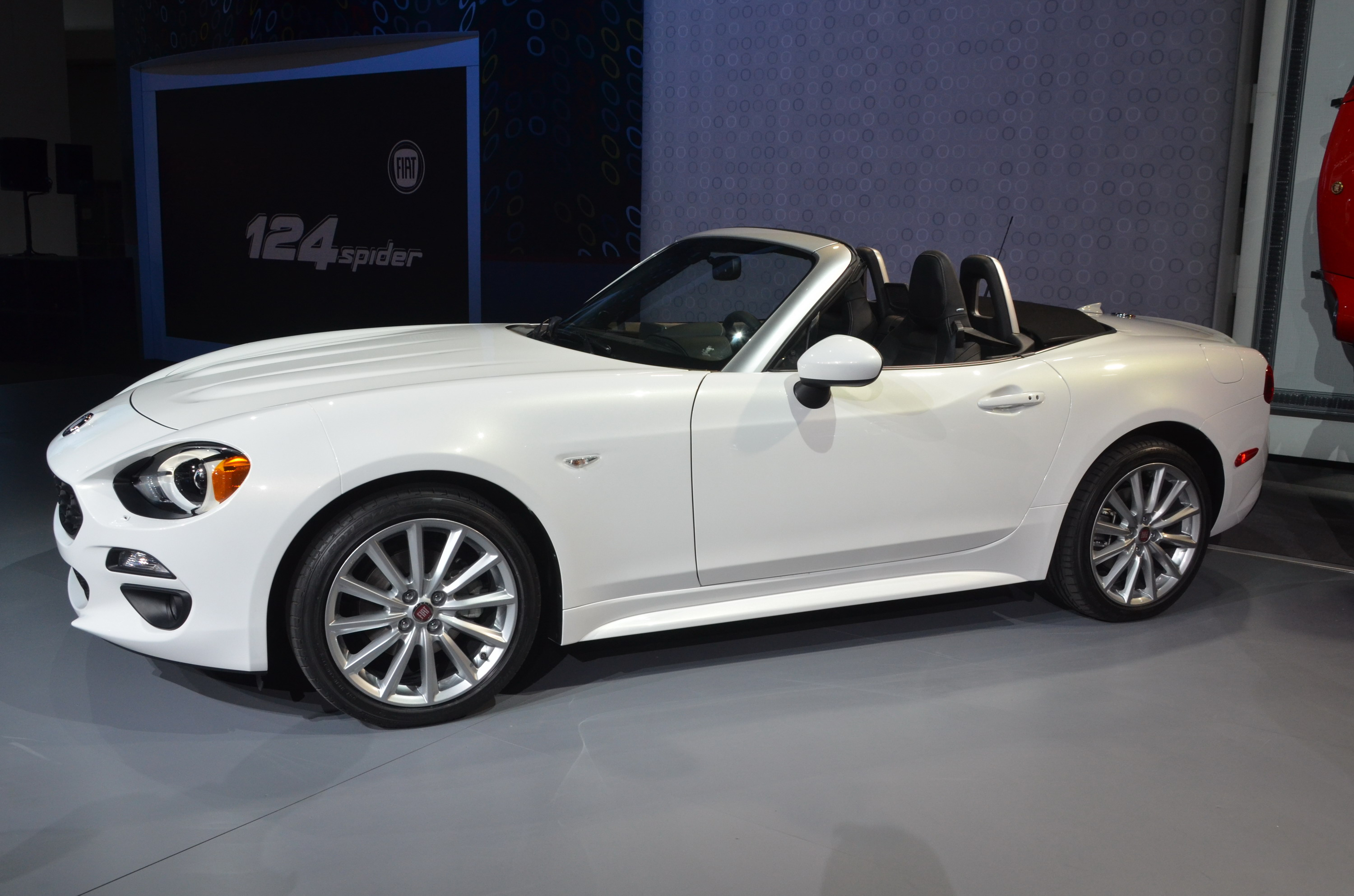 2017 Fiat 124 Spider Top Speed 1970 Convertible