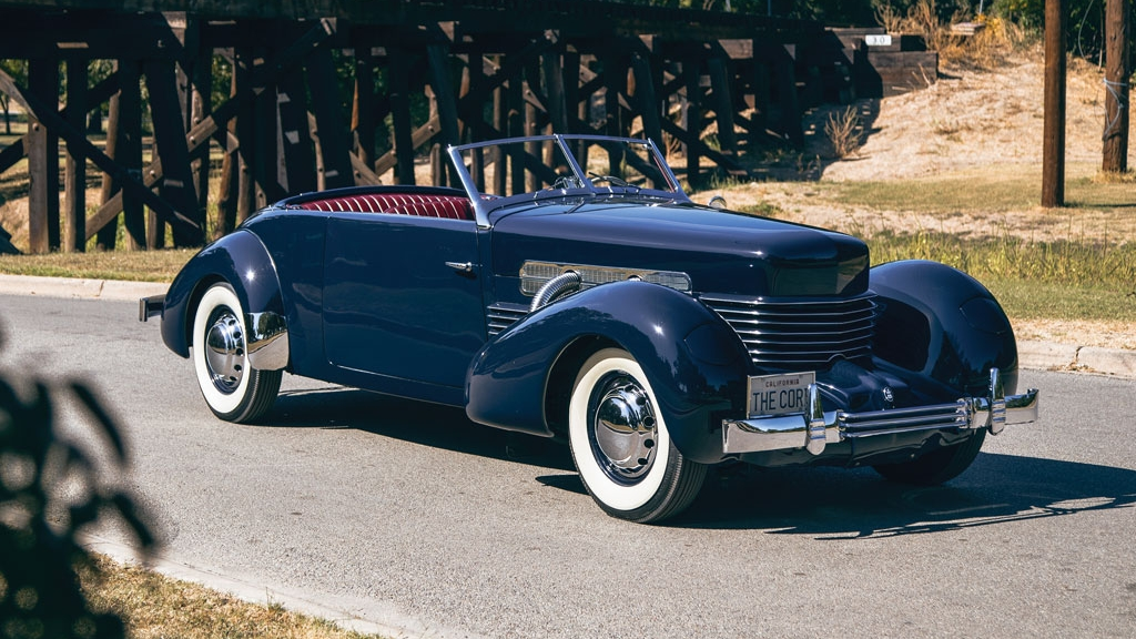 1937 Cord 812 Supercharged Phaeton | Top Speed