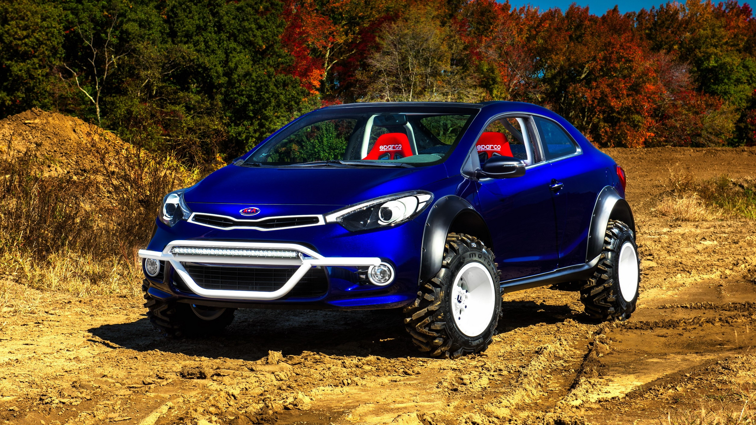 2015 kia forte koup mud bogger pictures  photos
