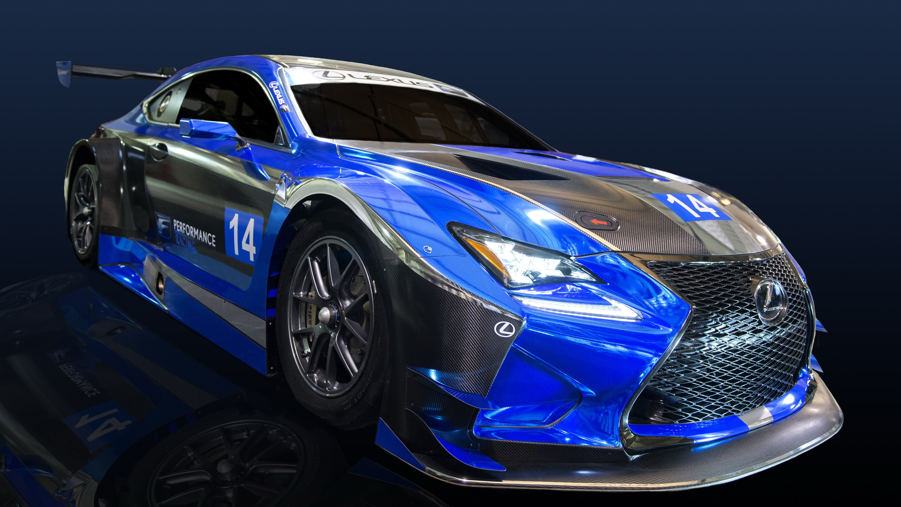 2016 lexus rc f gt3 by f performance racing review top speed. Black Bedroom Furniture Sets. Home Design Ideas