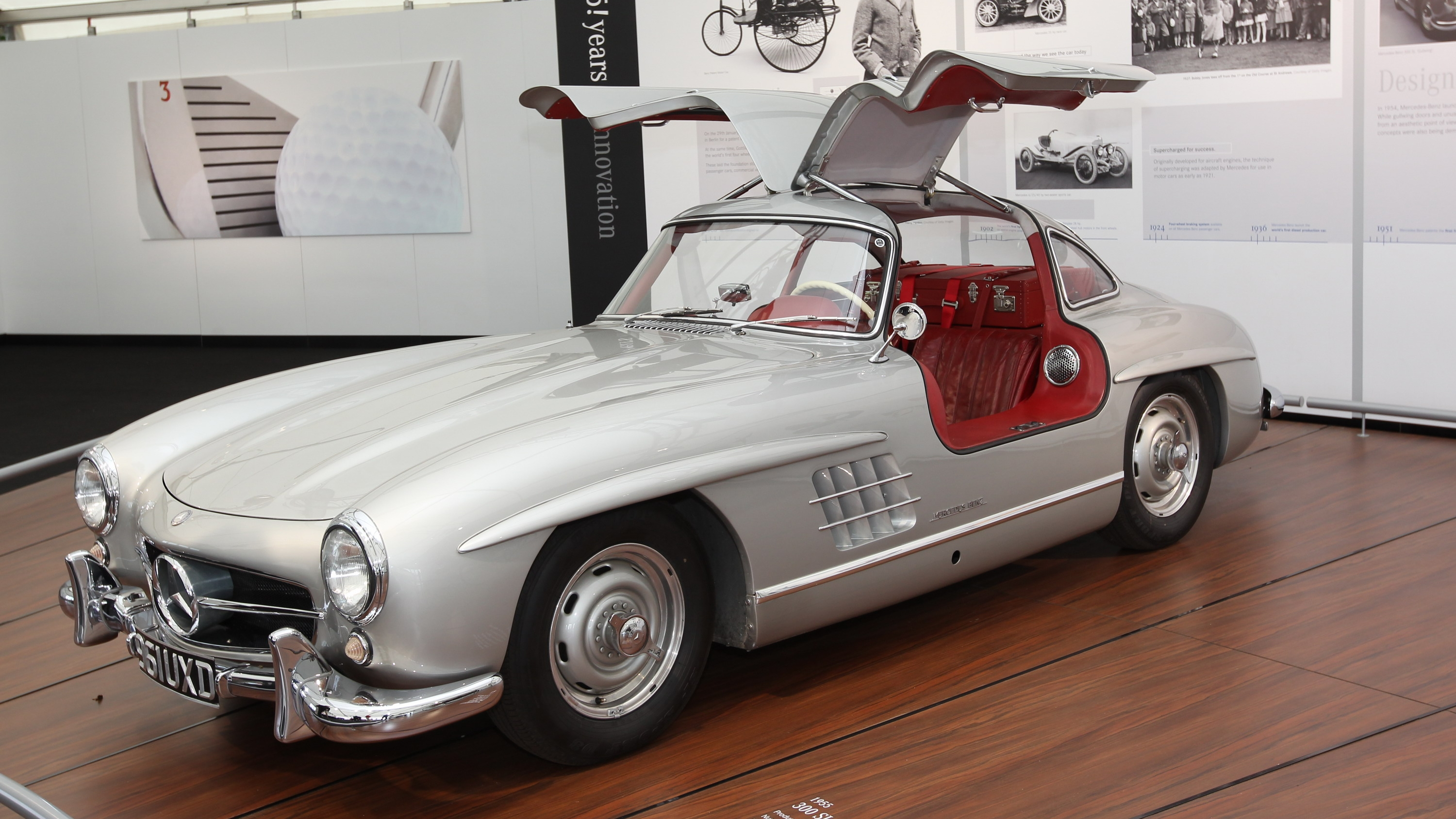Image of Mercedes 300SL Gullwing (1957)
