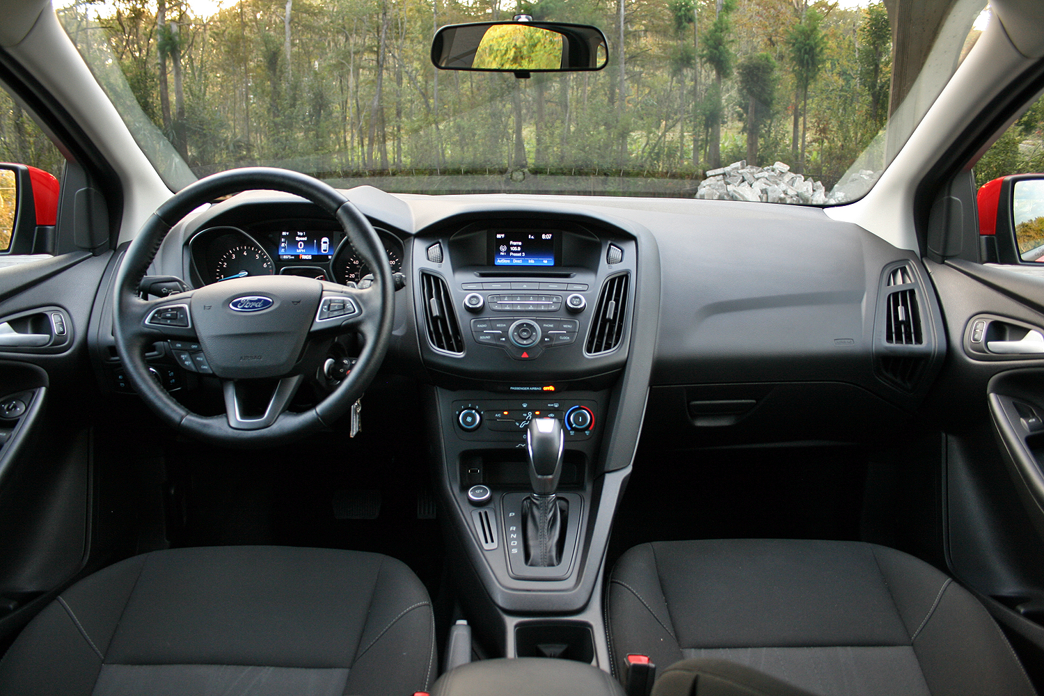 2015 ford focus hatchback driven top speed