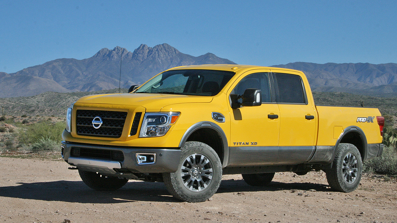 2016 nissan titan xd driven review top speed. Black Bedroom Furniture Sets. Home Design Ideas