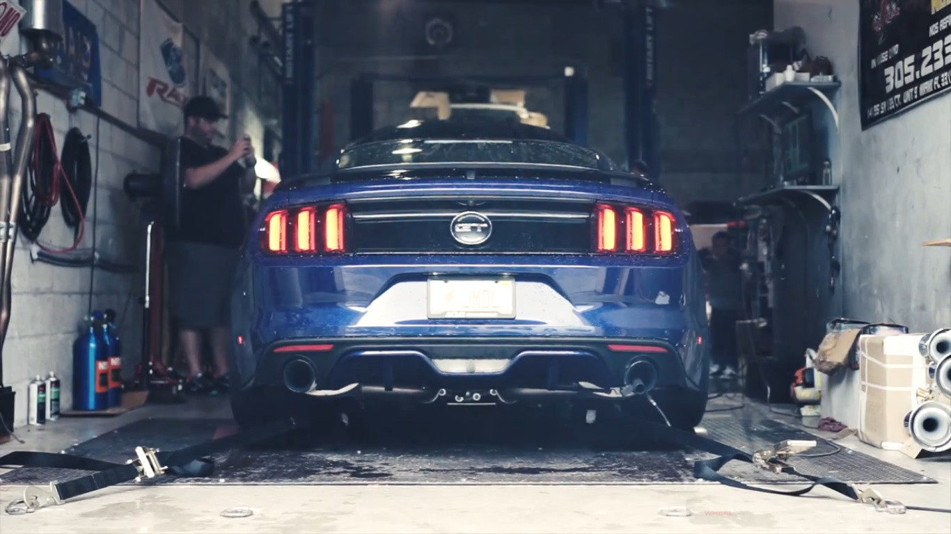 2015 Mustang Wheels >> 666 RWHP Blue Devil Ford Mustang Sounds Evil: Video | Top ...