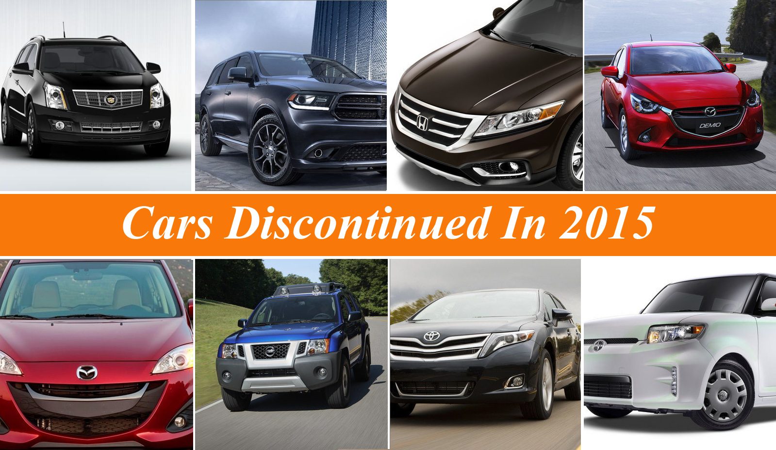 2016 Toyota Venza >> Cars Discontinued In 2015   Top Speed