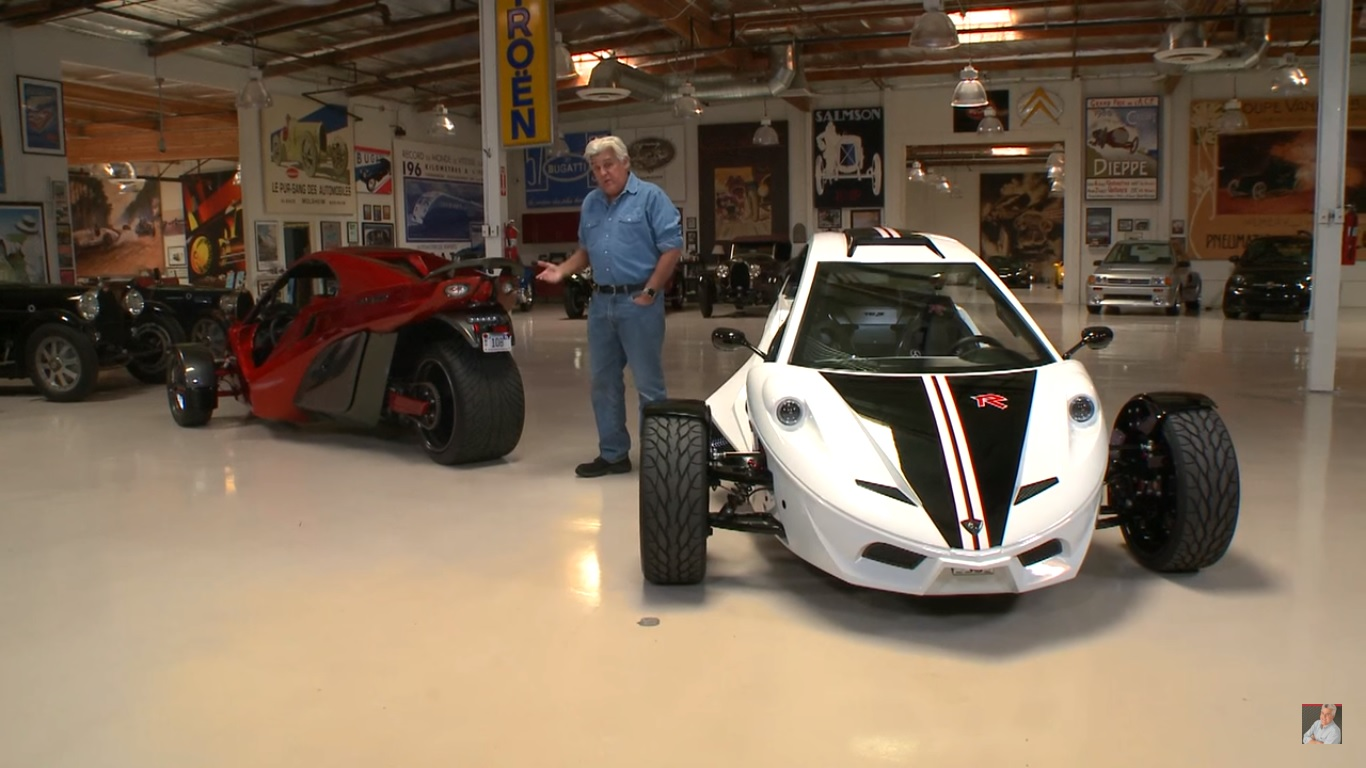 Jay Leno Meets The Tanom Invader: Video | Top Speed. »