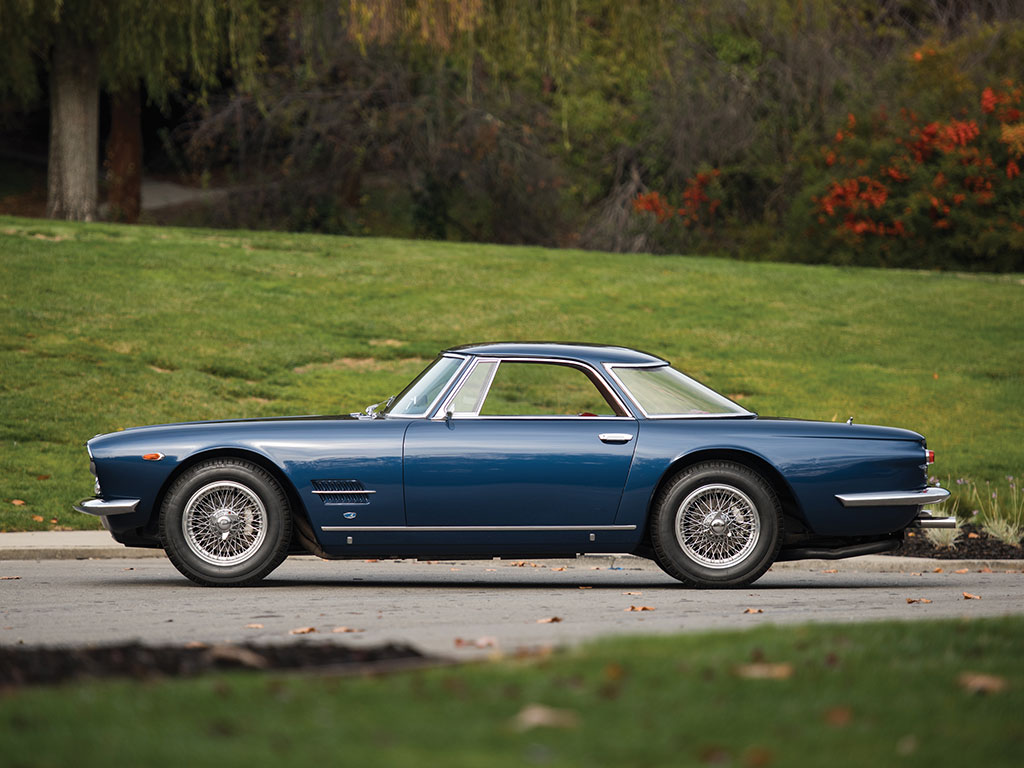 1962 maserati 5000 gt coupe | top speed
