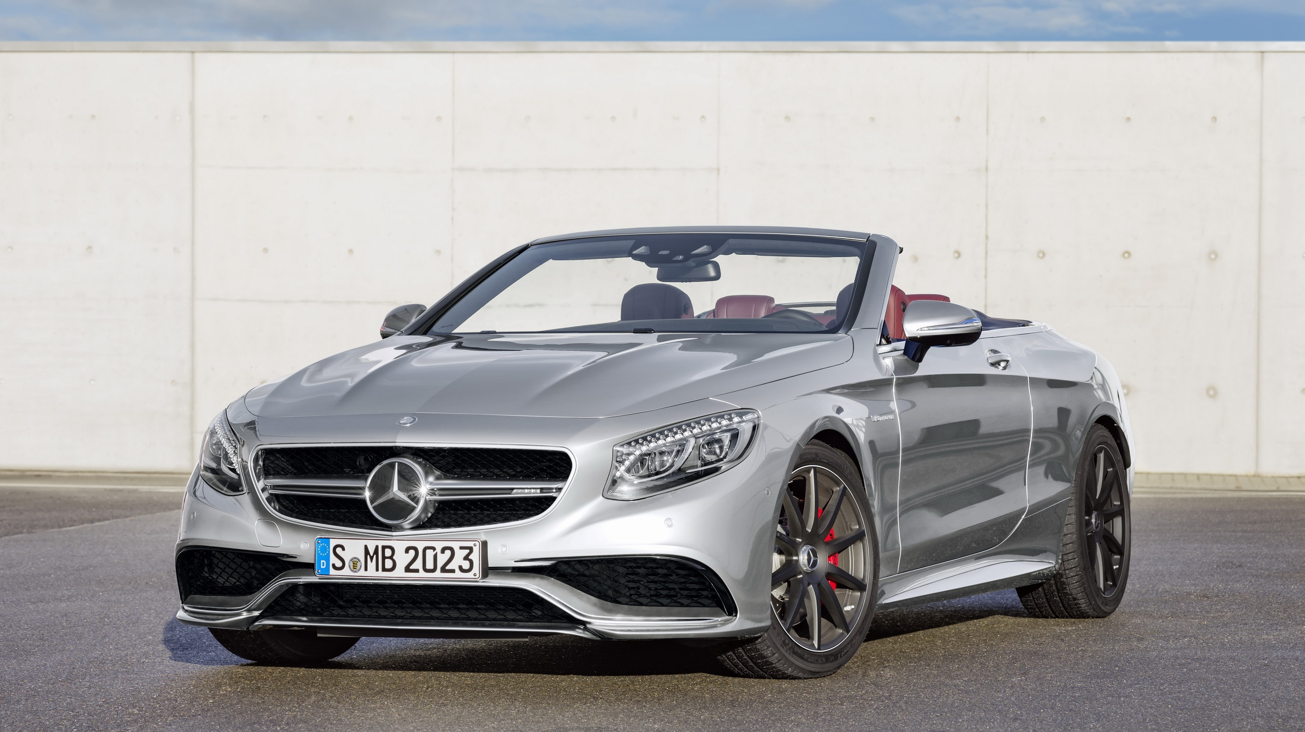 2017 Mercedes-AMG S 63 4MATIC Cabriolet \