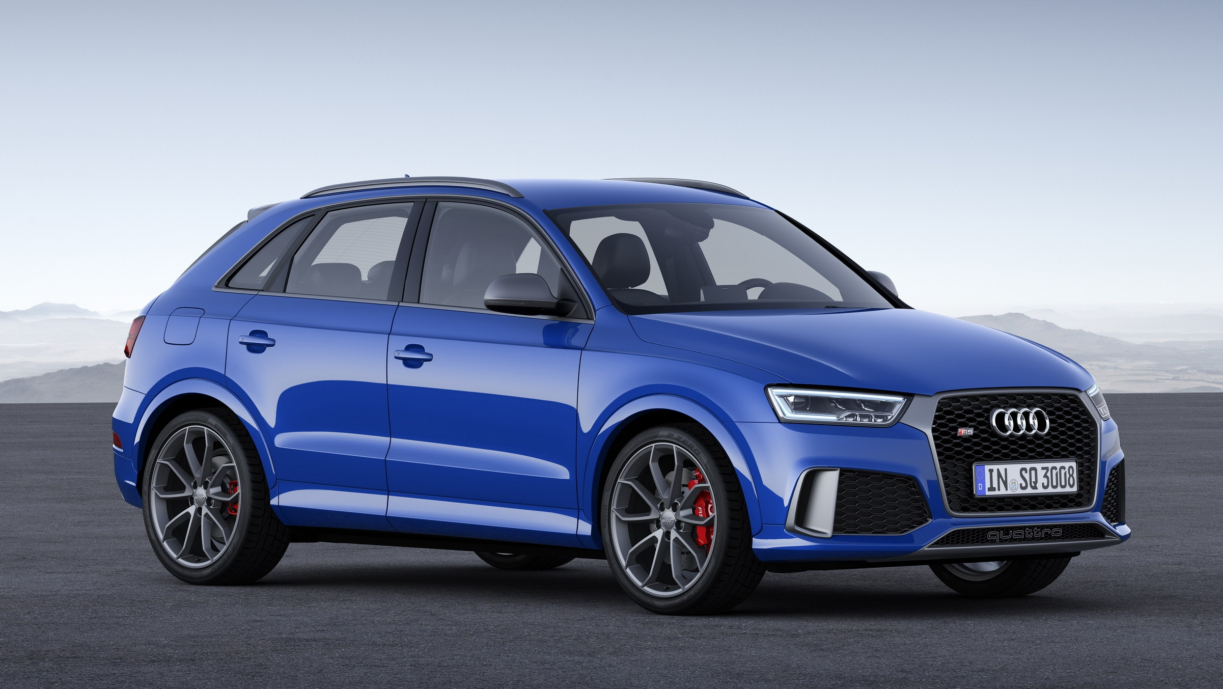 2017 Audi RS Q3 Performance | Top Speed