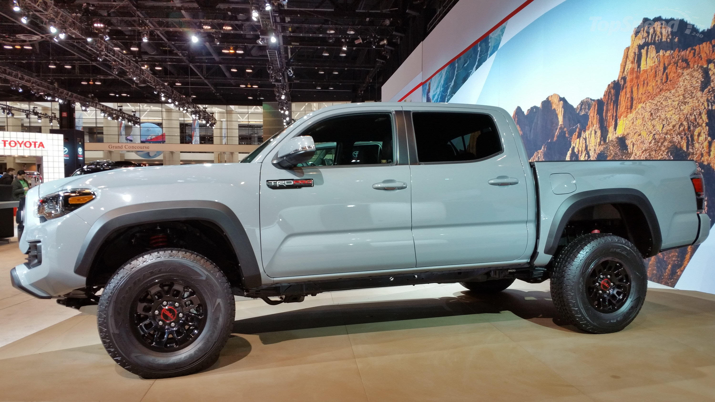 2017 toyota tacoma trd pro picture 666060 truck review top speed. Black Bedroom Furniture Sets. Home Design Ideas