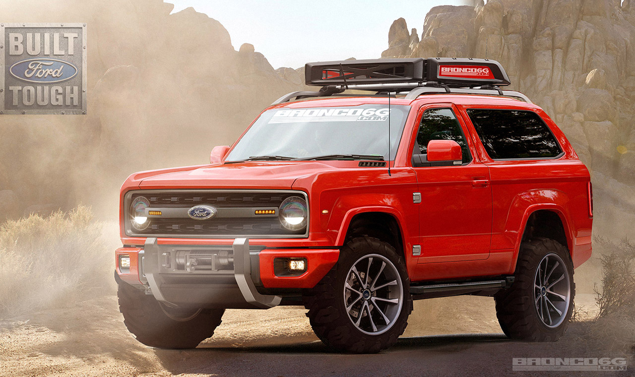 Ford Can T Quit Filing Trademarks For The 2020 Bronco Here S The Full List And What They Might Be Top Speed