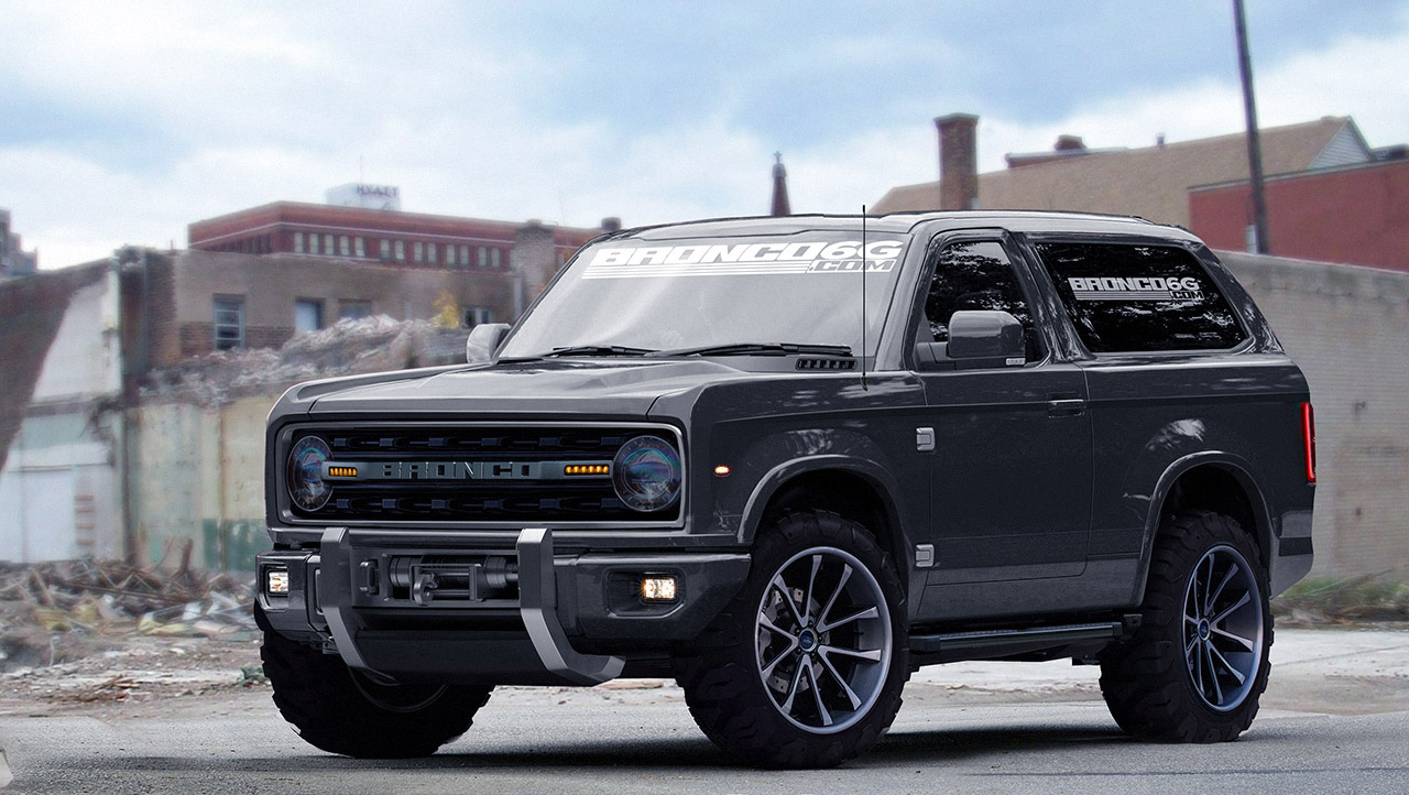 Word Has It That A V 8 Ford Bronco Is In The Works And It Will