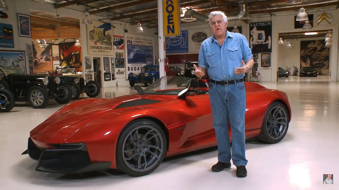 Jay Leno Comes Face To Face With The Rezvani Beast Video Top Speed