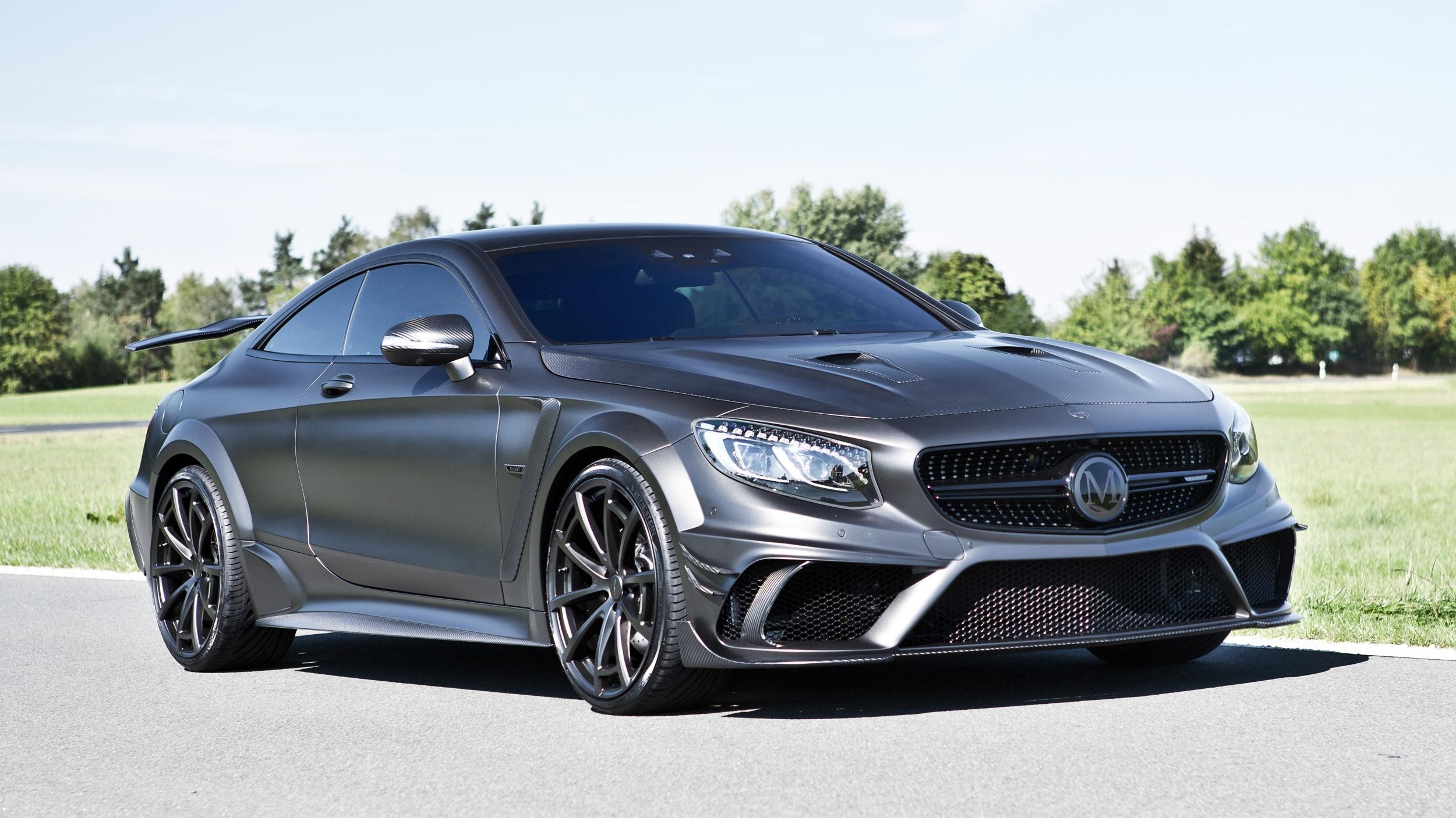2016 mercedes amg s63 coupe black edition by mansory top. Black Bedroom Furniture Sets. Home Design Ideas