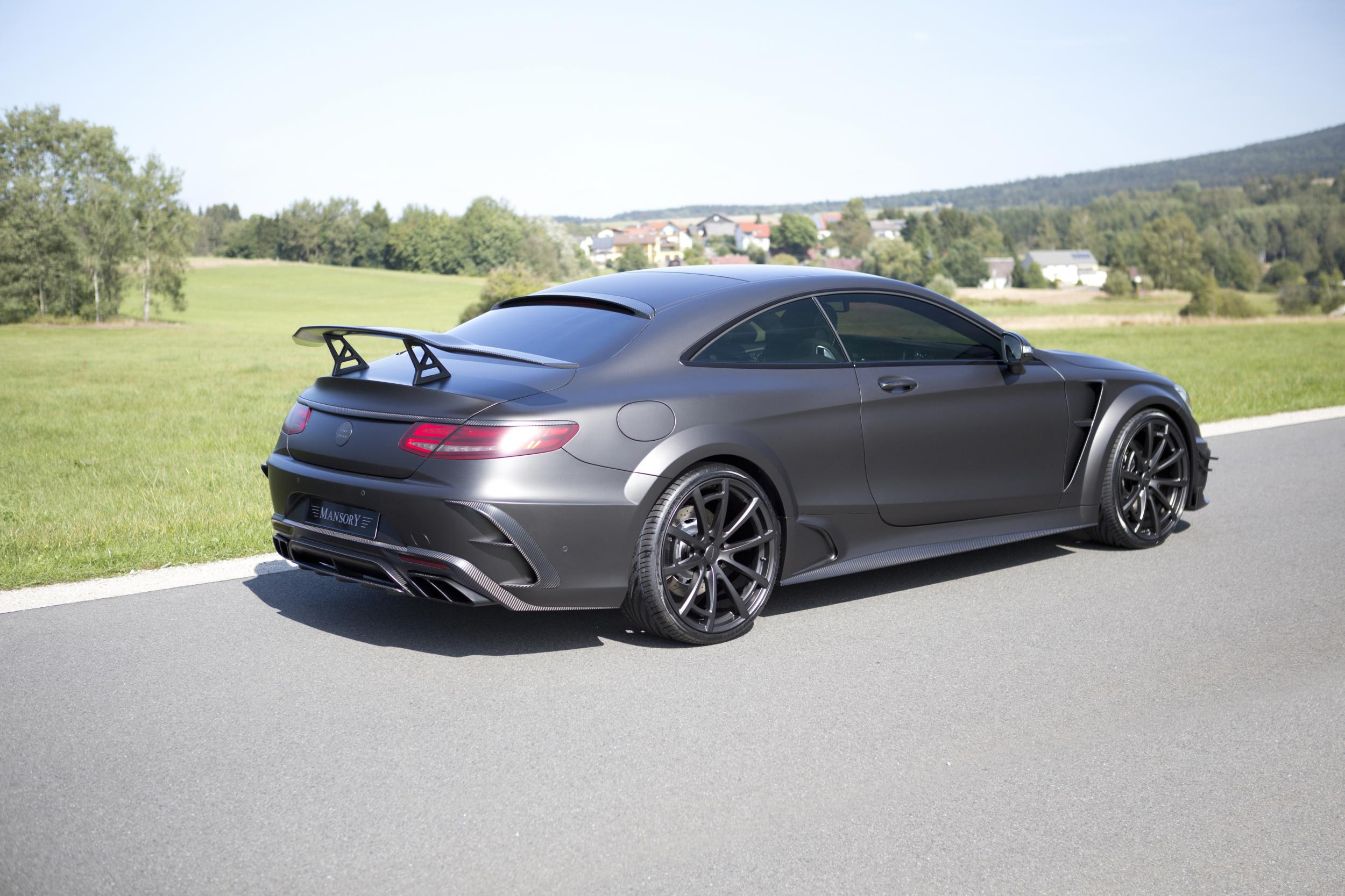 2016 Mercedes Amg S63 Coupe Black Edition By Mansory Top Speed