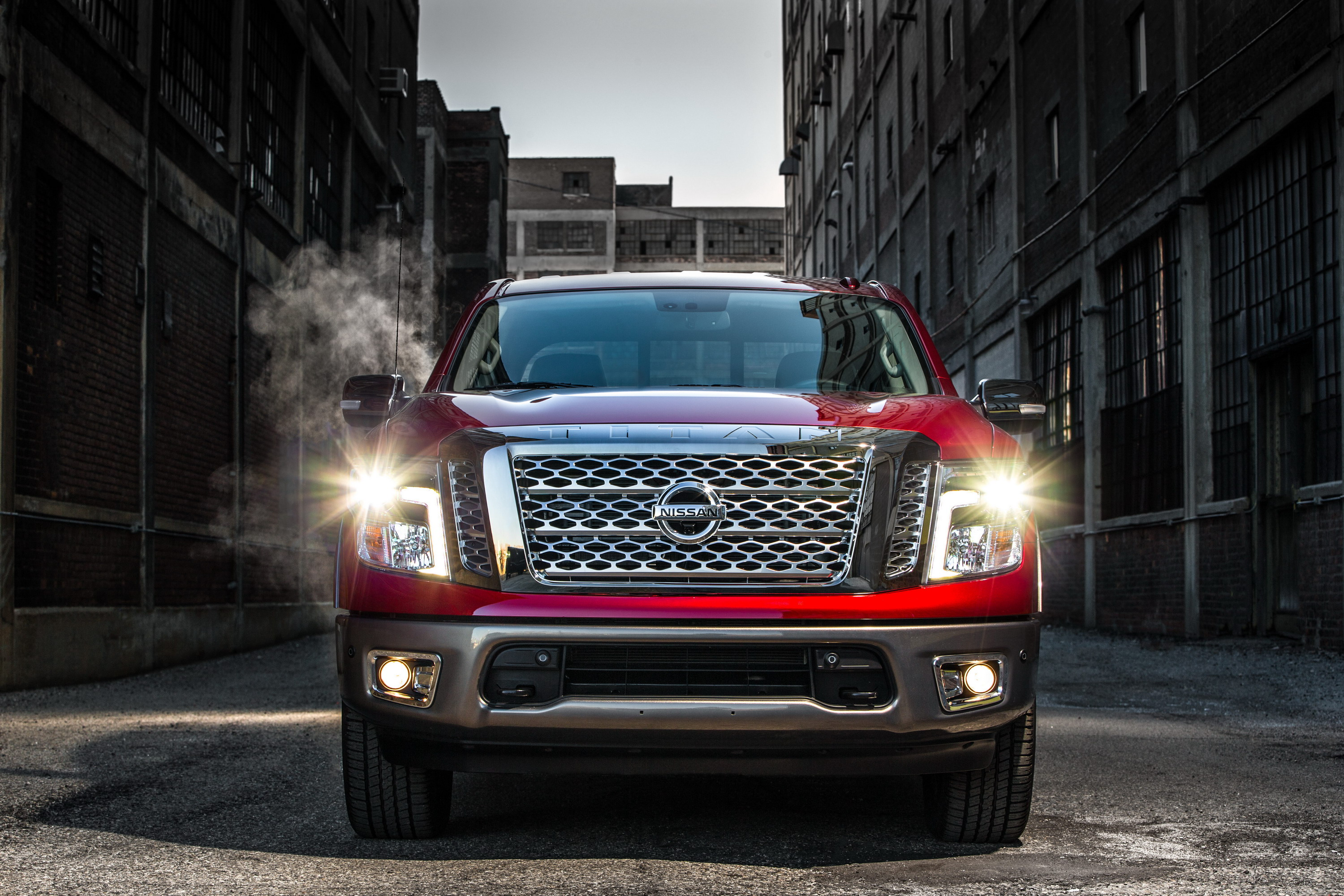 Nissan Removed The Fender Badge From 2018 Titan And Nobody