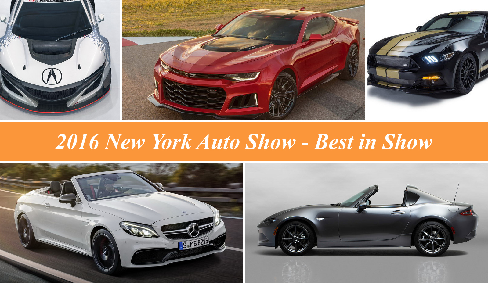2016 new york international auto show best in show top speed. Black Bedroom Furniture Sets. Home Design Ideas