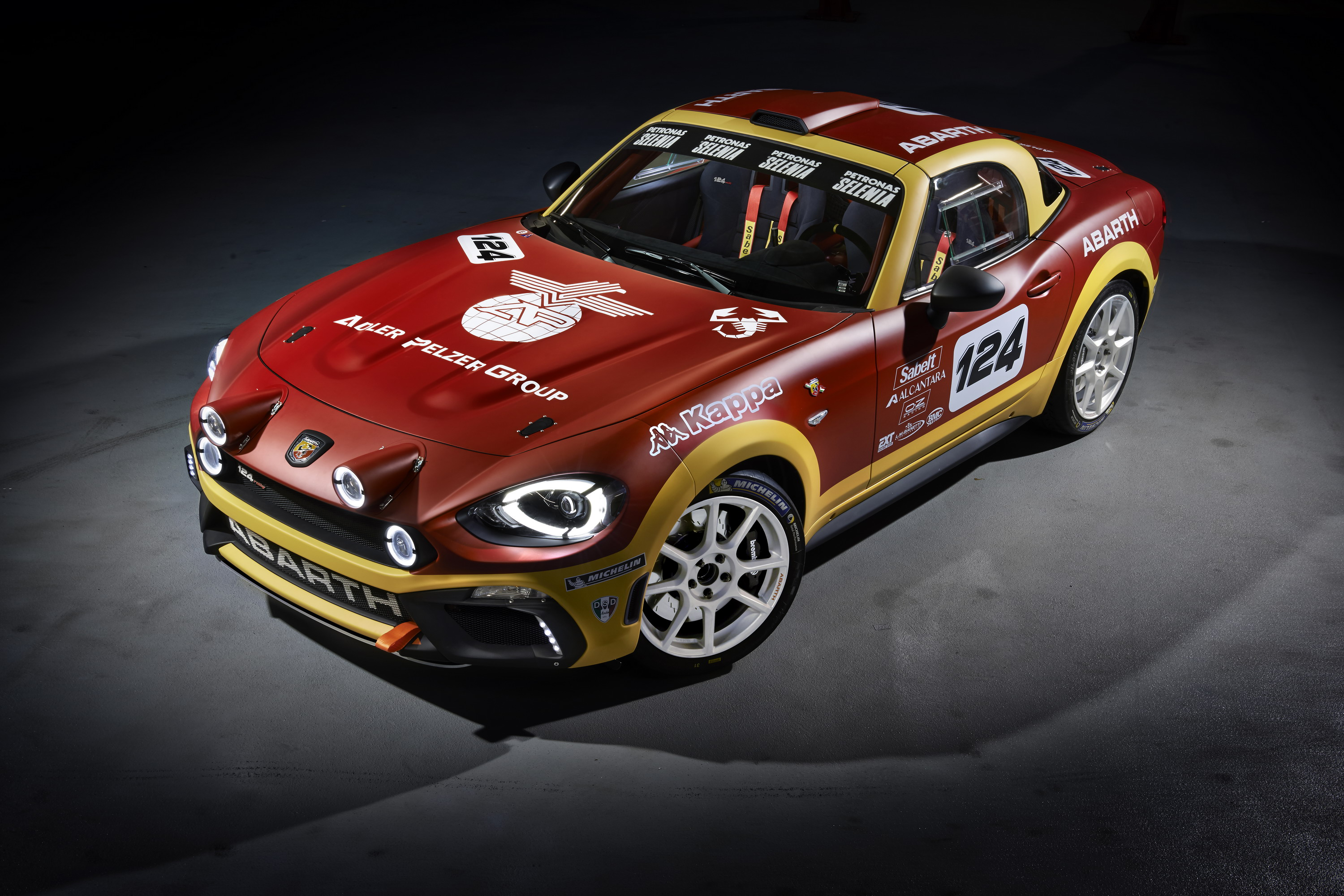 2016 Abarth 124 Rally Top Speed