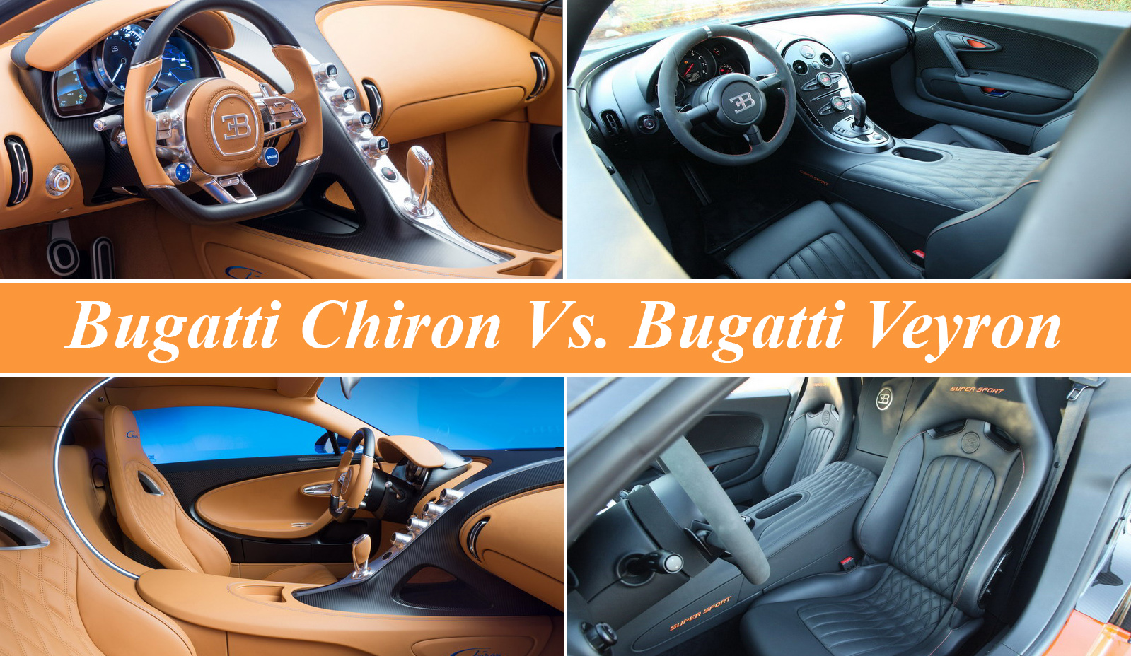 bugatti chiron vs. bugatti veyron news - top speed