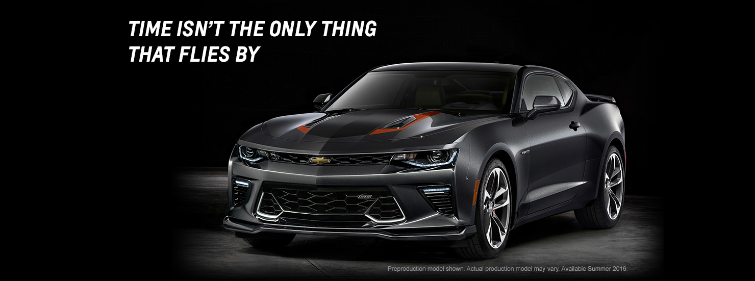 2016 Chevrolet Camaro 50th Anniversary Edition Top Speed