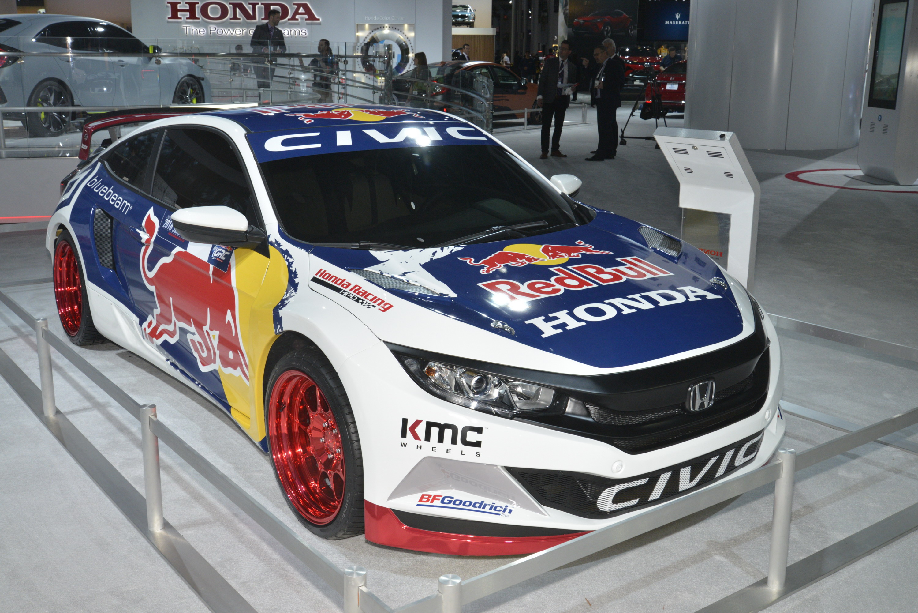 Grc Civic >> 2016 Honda Civic Red Bull Grc Top Speed