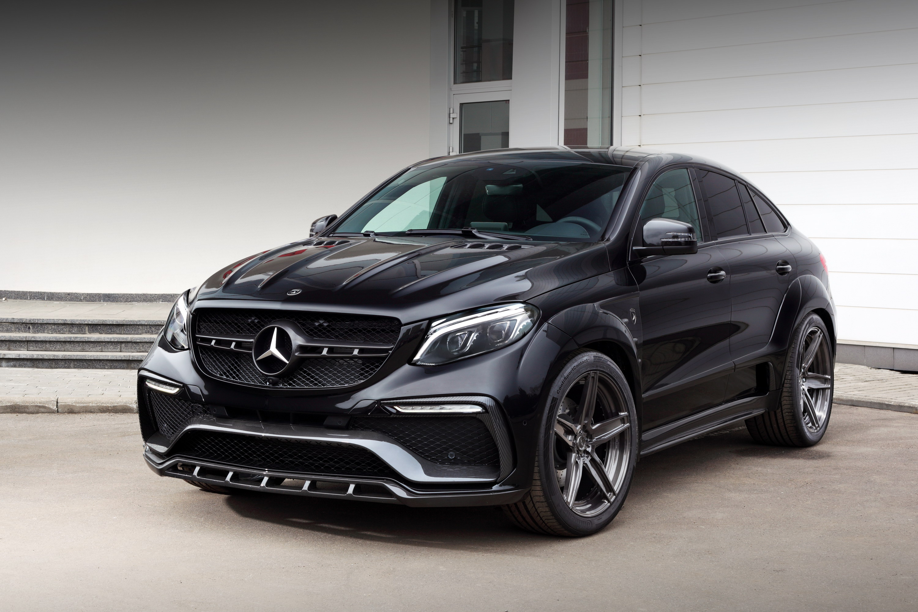 Mercedes Gl E >> 2016 Mercedes Benz Gle Coupe Inferno By Topcar Top Speed