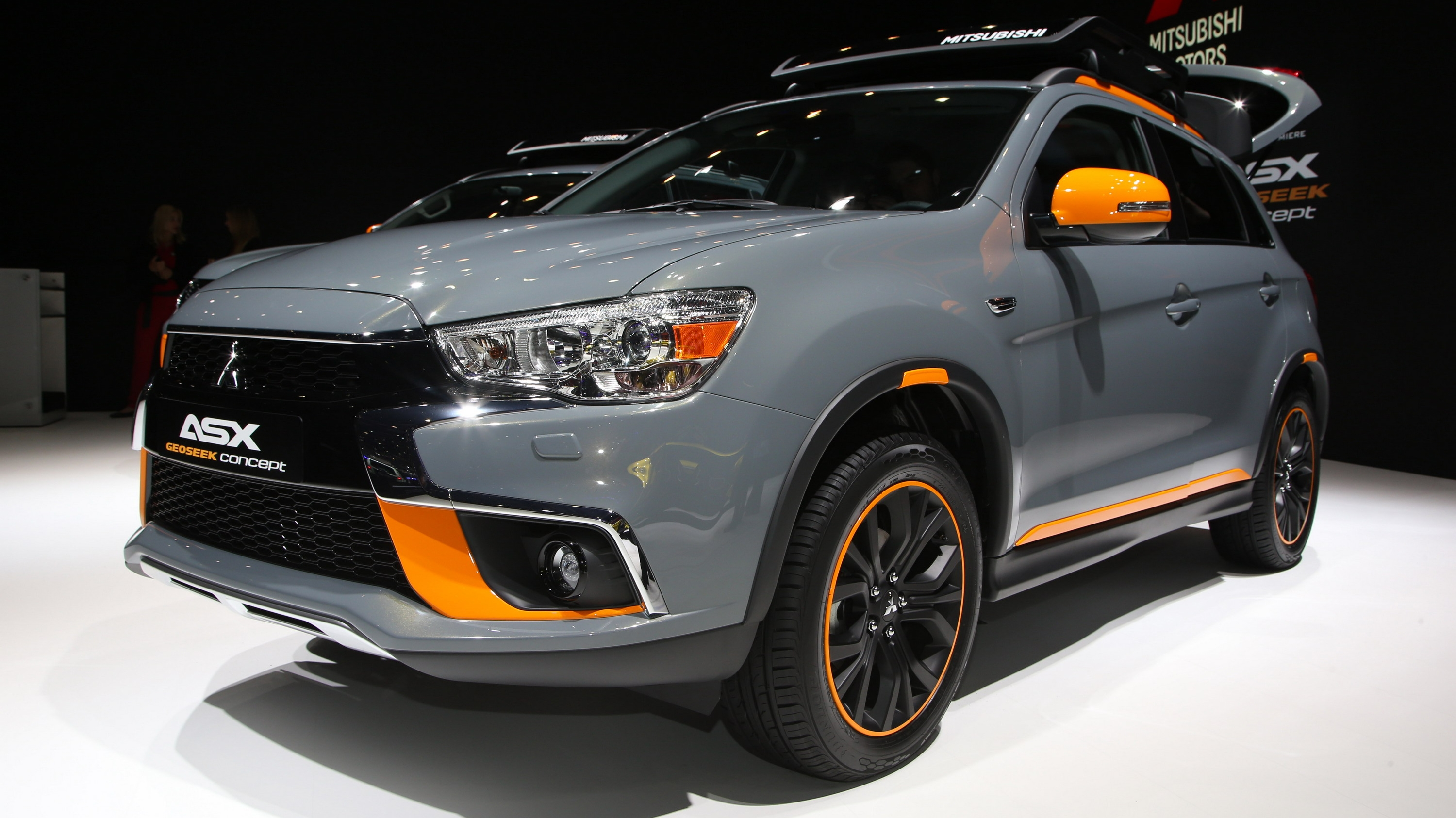 2016 mitsubishi asx geoseek concept top speed. Black Bedroom Furniture Sets. Home Design Ideas