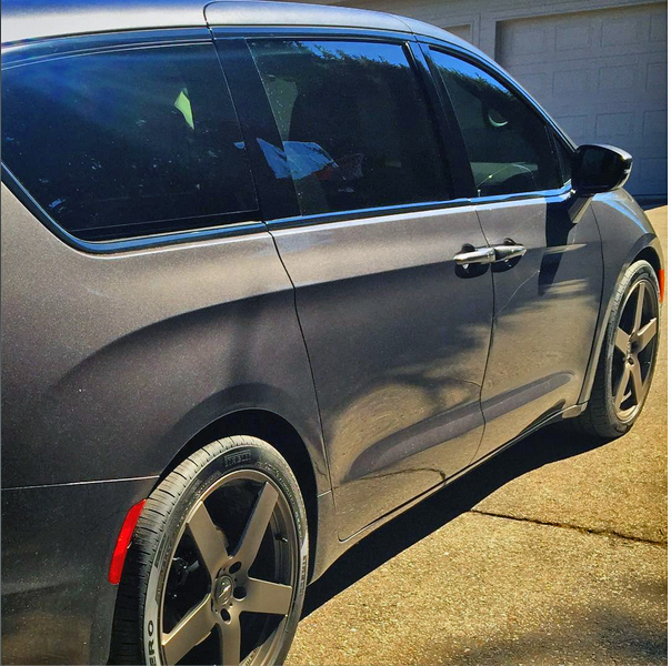 Chrysler Pacifica Hellcat Test Mule Spotted Top Speed