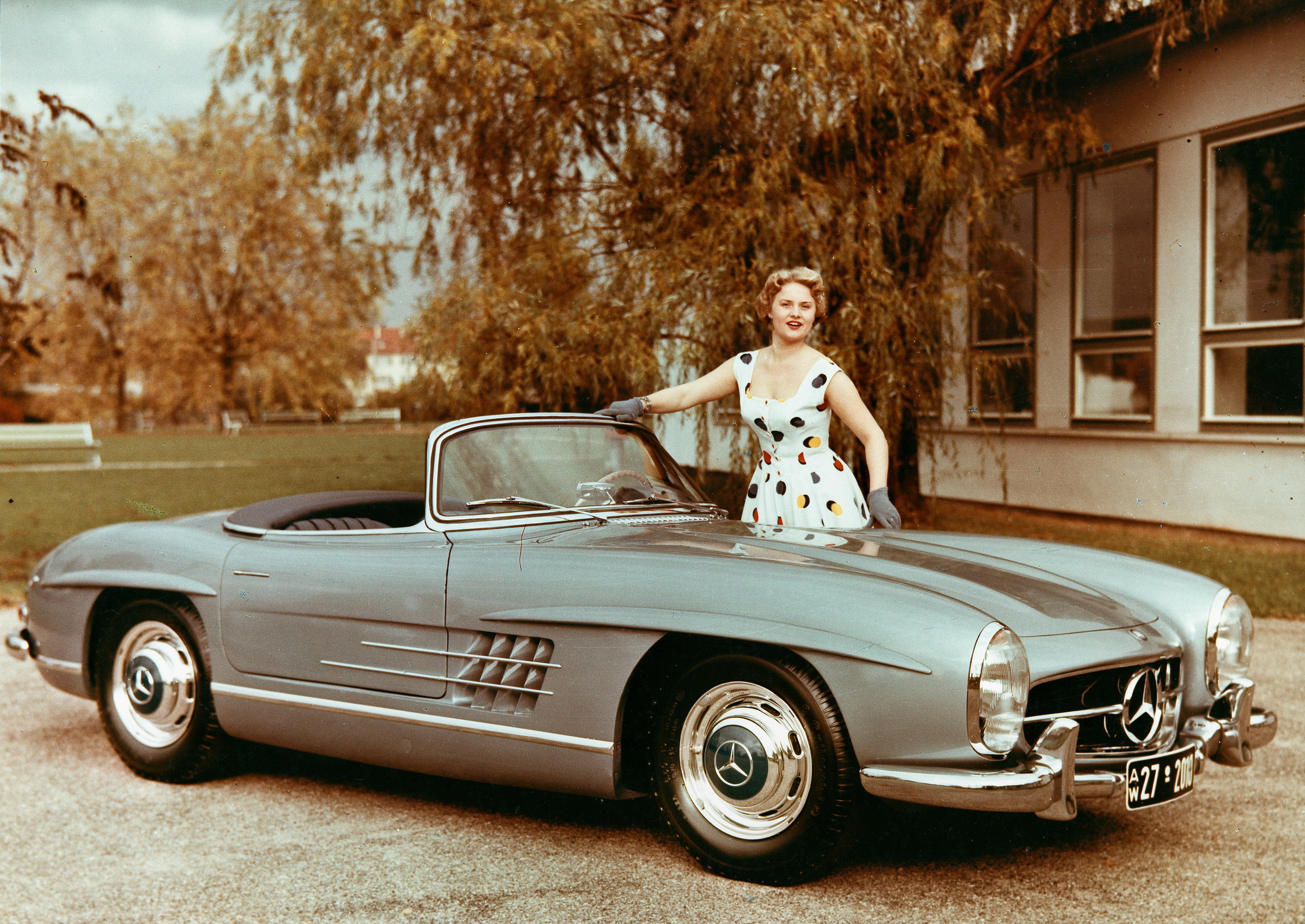 1957 Mercedes 300SL Roadster Review