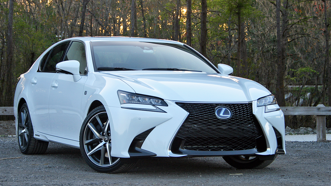 2016 lexus gs 450h f sport driven top speed. Black Bedroom Furniture Sets. Home Design Ideas