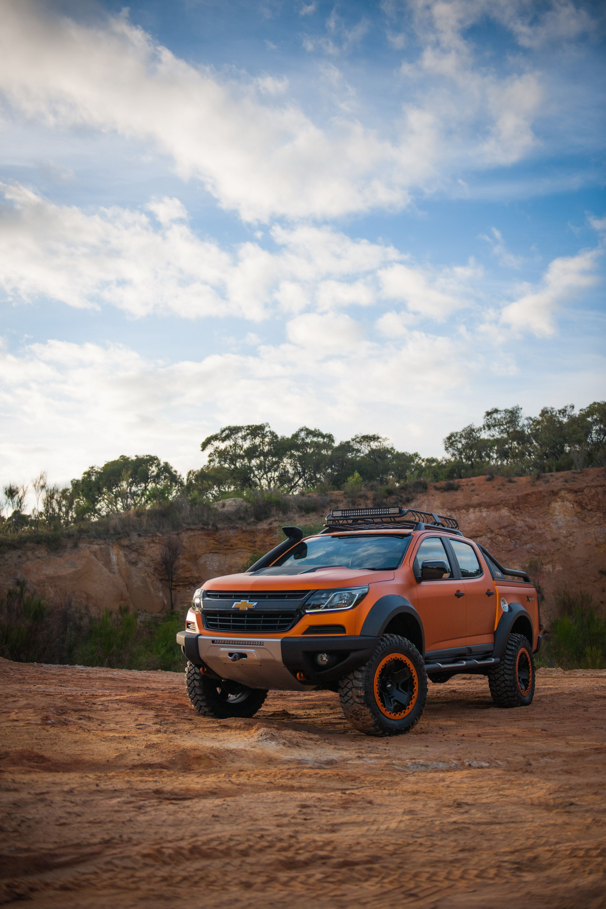 Chevrolet s thailand division recently rolled out an off road concept version of the global colorado pickup truck called the colorado xtreme